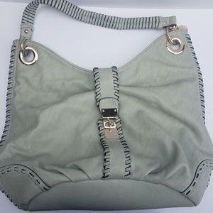 Big Buddah large grey purse